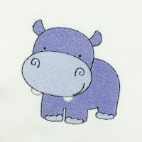 Matriz de bordado Hipopótamo