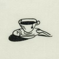Matriz de bordado caf� da manh� 37