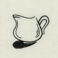 Matriz de bordado caf� da manh� 38
