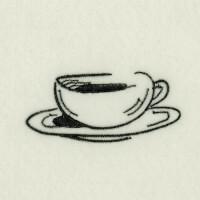 Matriz de bordado caf� da manh� 40