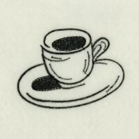 Matriz de bordado caf� da manh� 41