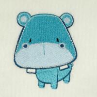 Matriz de bordado hipopótamo 13