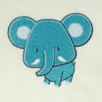 Matriz de bordado elefante 51
