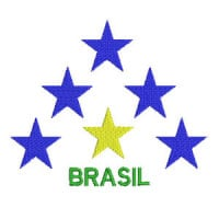 Matriz de bordado Brasil 27
