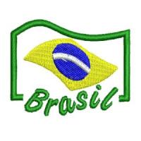 Matriz de bordado brasil 19 (vazado)