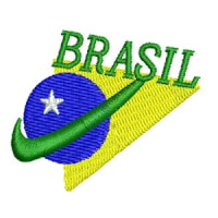 Matriz de bordado brasil 32