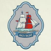 Matriz de bordado molduras marinheiro 6
