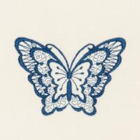 Matriz de bordado borboleta 01