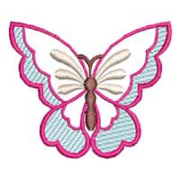 Matriz de bordado borboleta 03