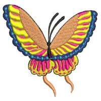 Matriz de bordado borboleta 04
