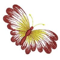 Matriz de bordado borboleta 11