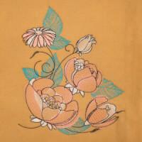 Matriz de bordado floral 507
