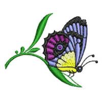 Matriz de bordado borboleta 14