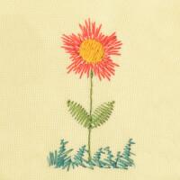 Matriz de bordado flor 254