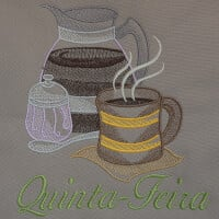 Matriz de bordado semaninha cafe da manhã 3