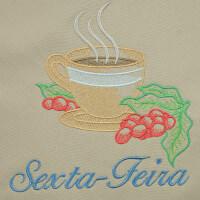 Matriz de bordado semaninha cafe da manhã 4