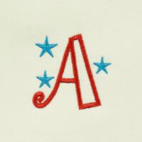 Matriz de bordado letra A