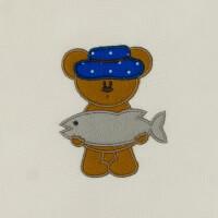 Matriz de bordado ursinho aplique 27