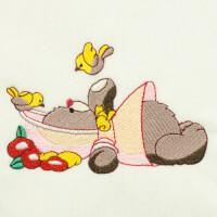 Matriz de bordado ursinho baby 4