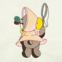 Matriz de bordado ursinho baby 5