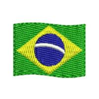 Matriz de bordado Badeira do Brasil