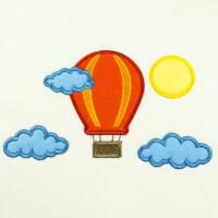 Matriz de bordado Balão (aplique) 4