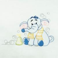 Matriz de bordado elefante rippled 1