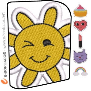 Pacote Patches Bordados 02