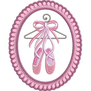 Shoe Embroidery Design