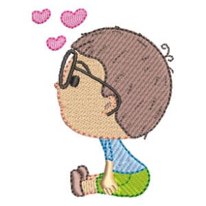 Boy Embroidery Design