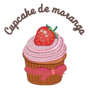 Matriz de bordado Cupcake 52