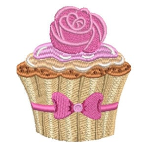 Matriz de bordado Cupcake