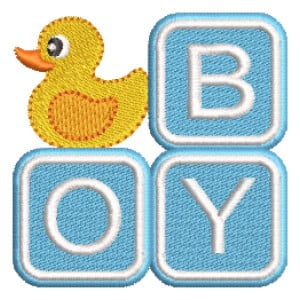 Toy Boy Embroidery Design