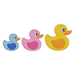 Ducks Embroidery Design