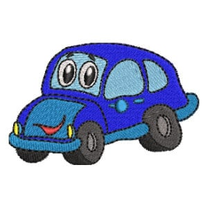 Car Embroidery Design