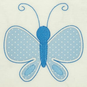Butterfly (Applique) Embroidery Design