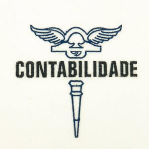 Matriz de bordado Logo de Contabilidade