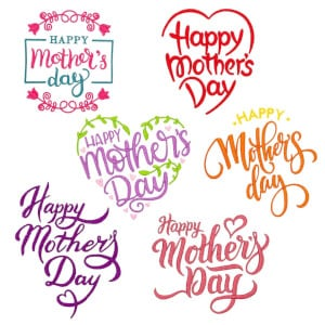 Dedications for Mother in English Embroidery Design Pack