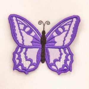 3D Butterfly 6 (In The Hoop) Embroidery Design
