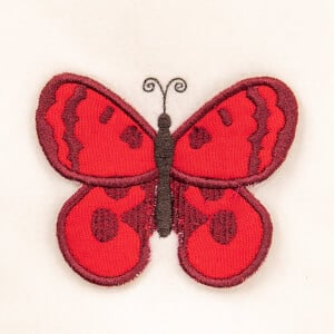 3D Butterfly 5 (In The Hoop) Embroidery Design