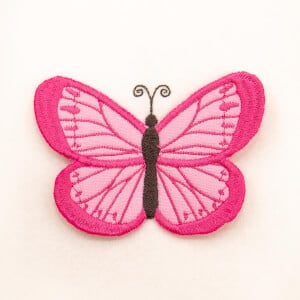 3D Butterfly 4 (In The Hoop) Embroidery Design