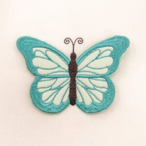 3D Butterfly 3 (In The Hoop) Embroidery Design