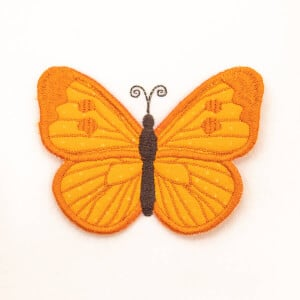 3D Butterfly 2 (In The Hoop) Embroidery Design