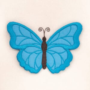3D Butterfly 1 (In The Hoop) Embroidery Design