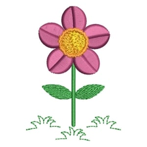 Little Flower Embroidery Design