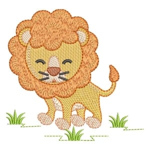 Lion Safari (QUICK STITCH) Embroidery Design