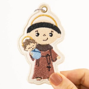 Saint Anthony of Padua (In The Hoop) Embroidery Design