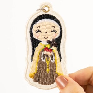 Saint Therese of Lisieux (In The Hoop) Embroidery Design