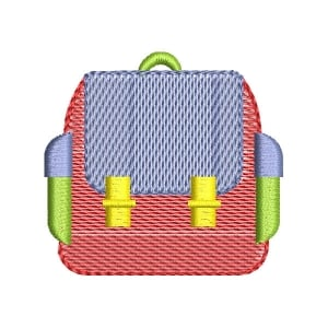 Student backpack (Quick Stitch) Embroidery Design