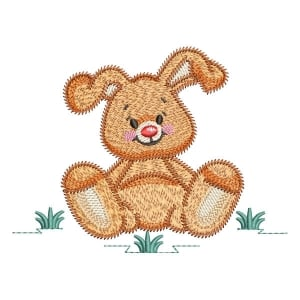 Little Bunny (Quick Stitch) Embroidery Design